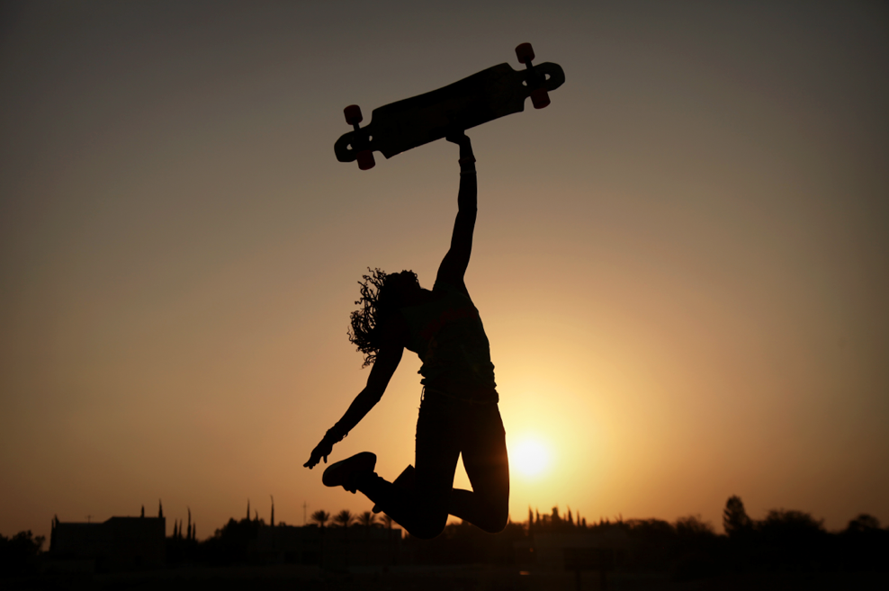 longboard girls crew, women power, rad women, women supporting women, girls who shred, girls who skate, ladies of shred, longboarding, skateboarding, skate, rad, cool, sunset, cami best, open, lgc skates israel
