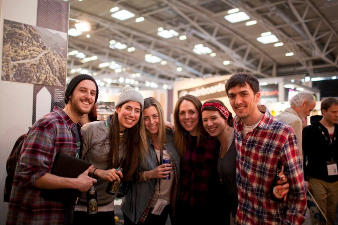longboard, friends, Ispo 2013