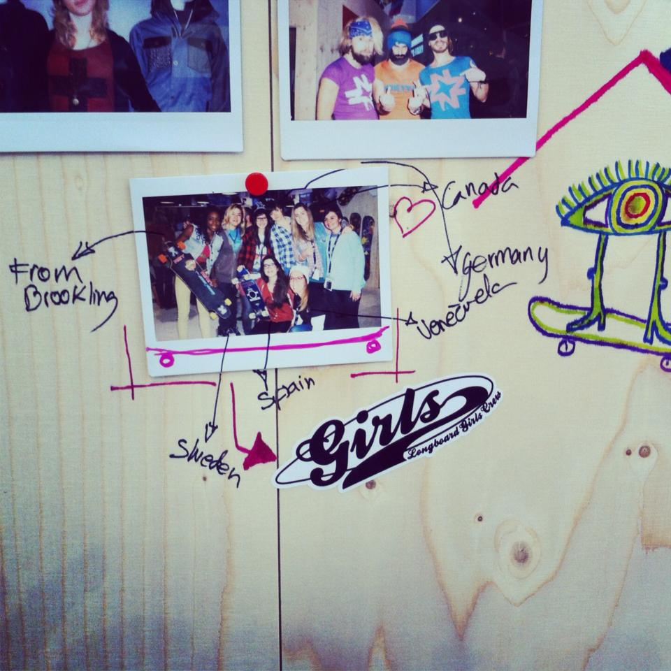 Longboard Girls Crew, Ispo 2013