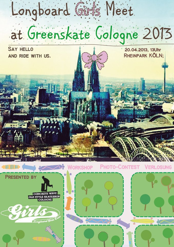 LGC Girls Meet GreenSkate Cologne