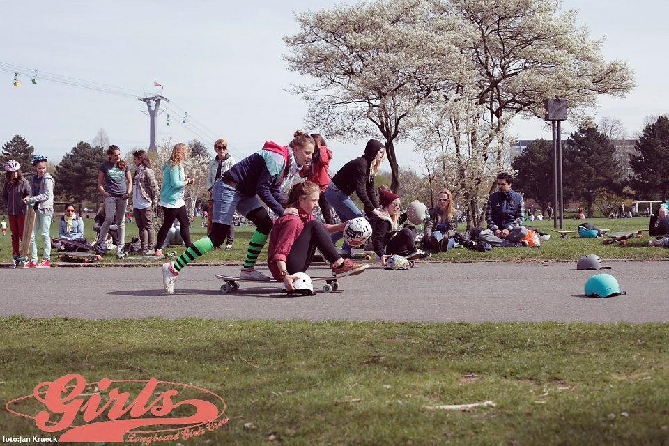 Longboard Girls Crew, Cologne, Germany, longboard, Girls Meet