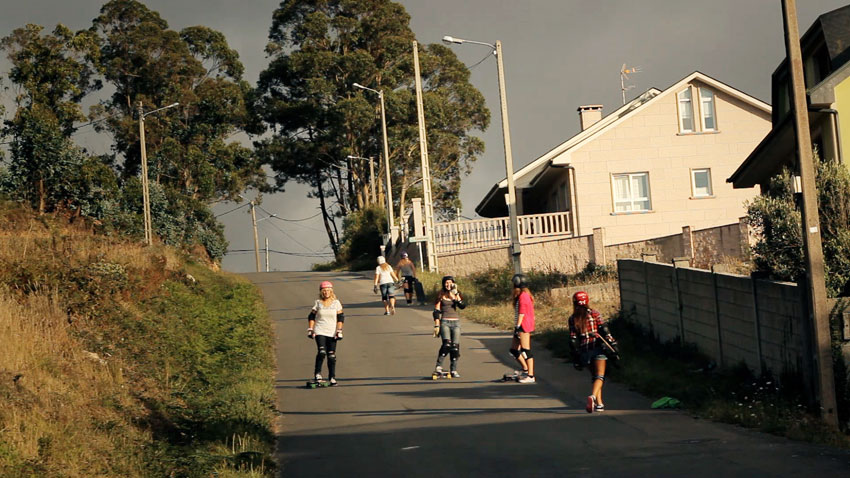 Longboard Girls Crew, Costa da Morte, Endless Roads, longboard