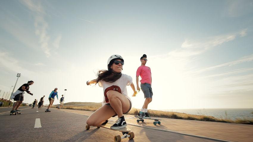 Valeria Kechichian, Longboard Girls Crew, Endless Roads, A Coruña, Galicia