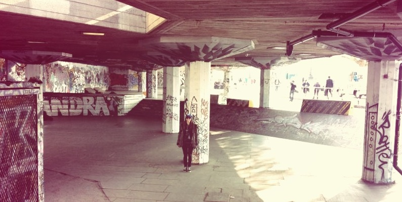 Southbank, Valeria Kechichian, London, skate
