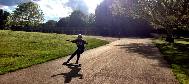 Valeria Kechichian, Longboard Girls Crew, London, Crystal Palace
