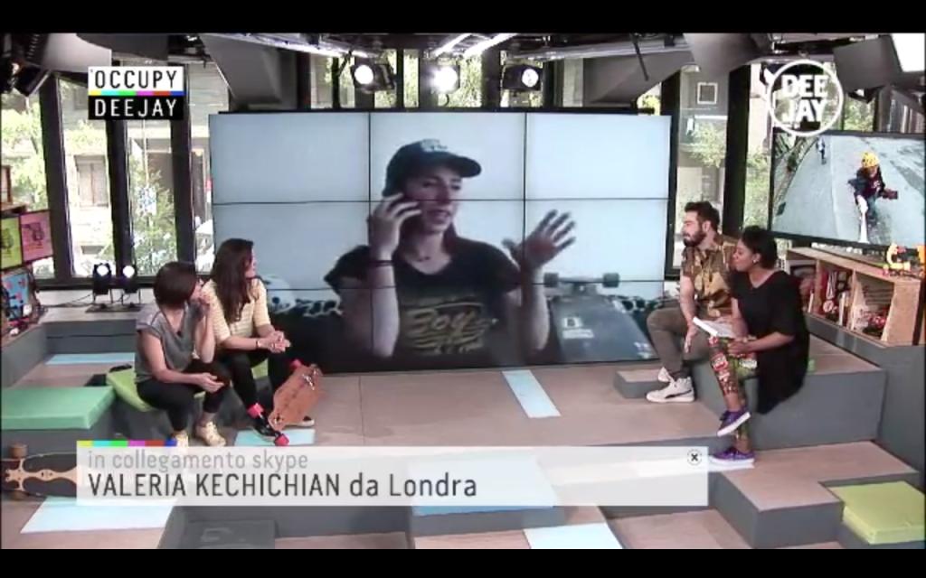 Valeria Kechichian, Occupy Deejay, Longboard Girls Crew