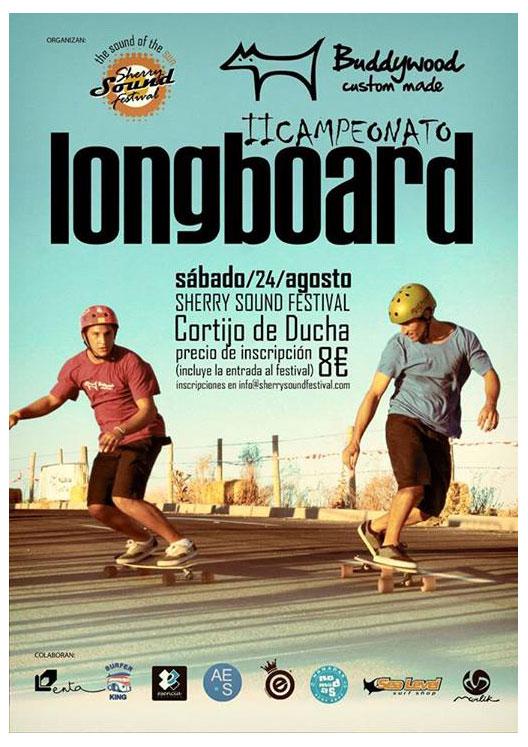 buddywood II campeonato longboard