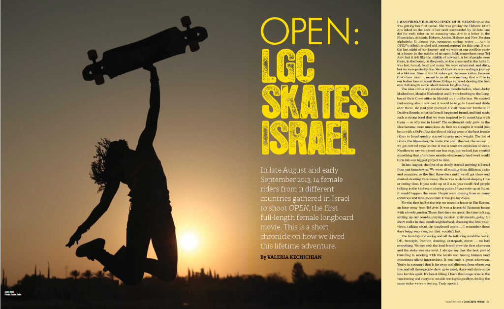 israel 2013 issue_Page2 y 3