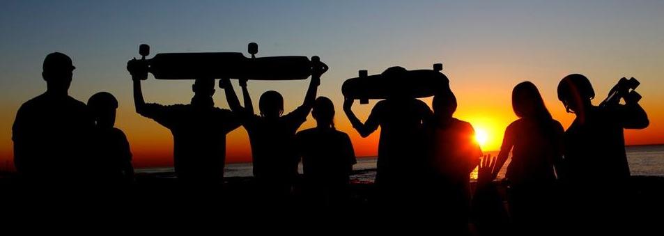 Longboard girls crew israel, longboarding for peace, peace