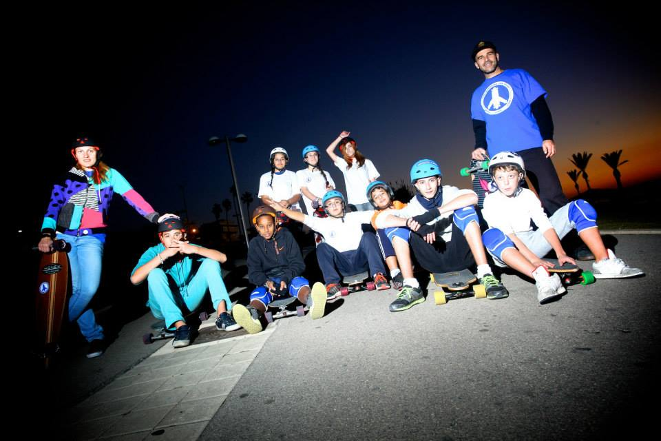 longboarding for peace, longboard girls crew israel, isreal, peace, skate