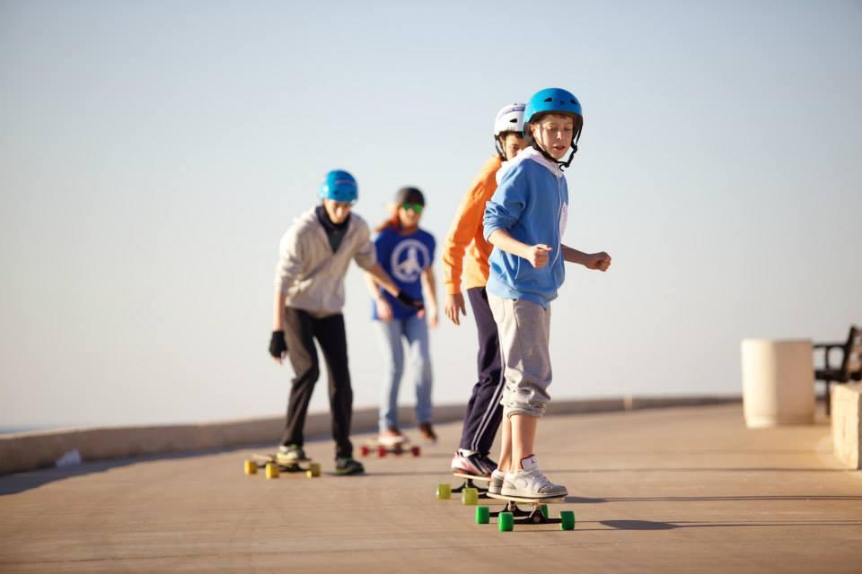 Longboarding for peace, longboard girls crew israel, peace, israel