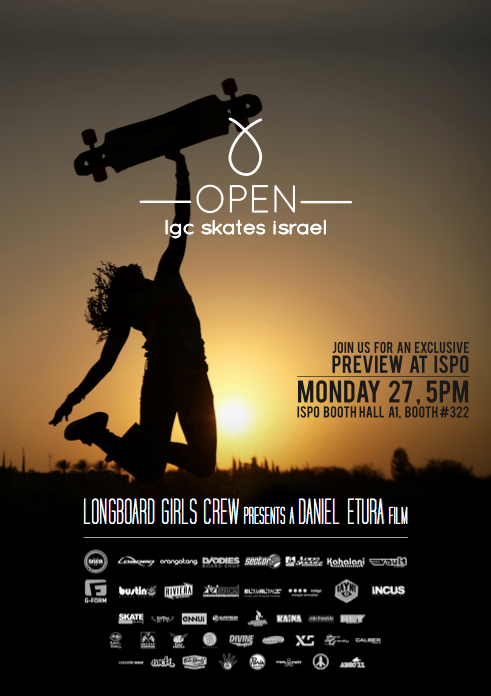 ispo, longboard girls crew, open, screening