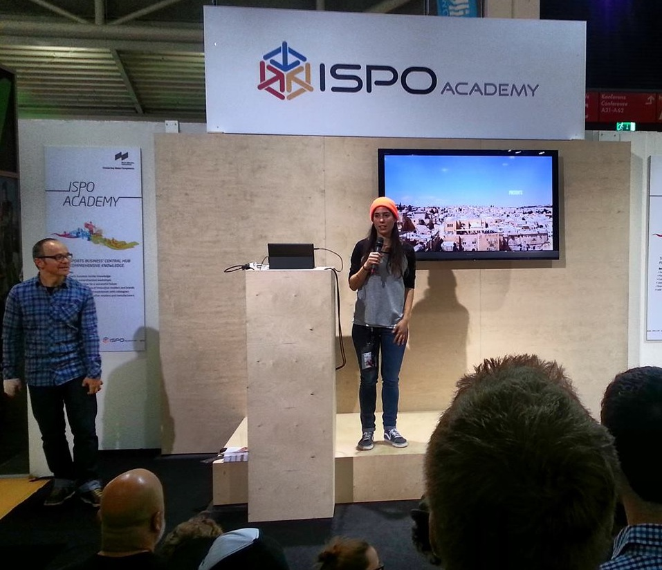 Valeria Kechichian, Ispo 2014, longboard girls crew, open, preview
