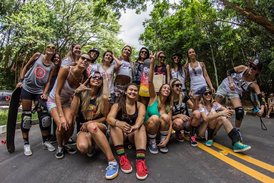 1 Ladeira Femenina, Brasil, Longboard Girls Crew