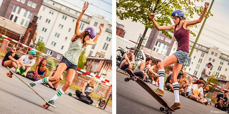 Femke Bosma, Marte Bosma, The netherlands, simple longboards, longboard girls crew, dance, freestyle