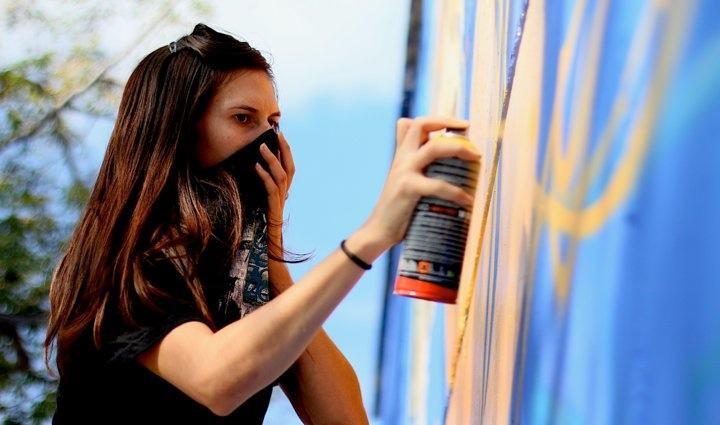 clarafosca, graffitti