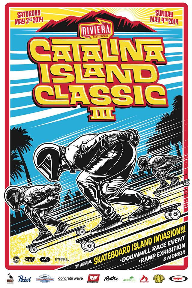 catalina island classic, california, longboard girls crew