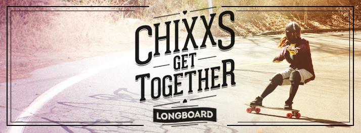 chixxs on board, tamara prader, longboard