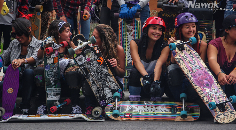 longboard girls crew colombia, colombia, longboard, girls, girl, rad, cool, fun
