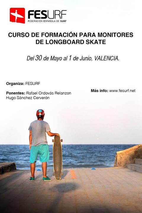 federación española de surf, longboard, monitores, españa