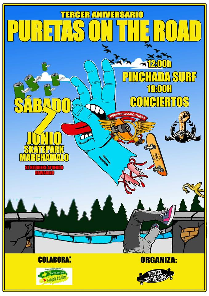 puretas on the road, aniversario pureta, madrid, skate, skateboarding, 2014