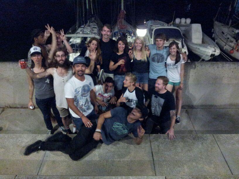 foreing exchange europe 2013, Barcelona, Paris Trucks, Longboard Girls Crew, longboard, Amanda Powell, Valeria Kechichian, Brian Peck, Matt K