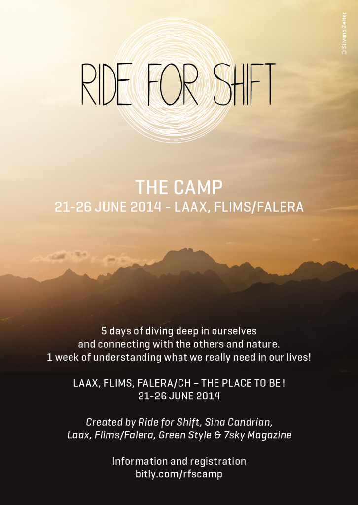 ride for shift, change the world, inspiration, camp, love