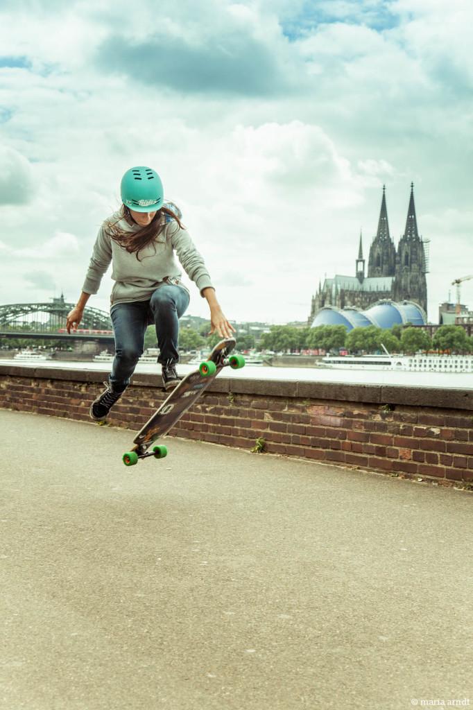 valeria Kechichian, longboard girls crew, longboard, girl, cool, rad, girls in longboarding, Köln