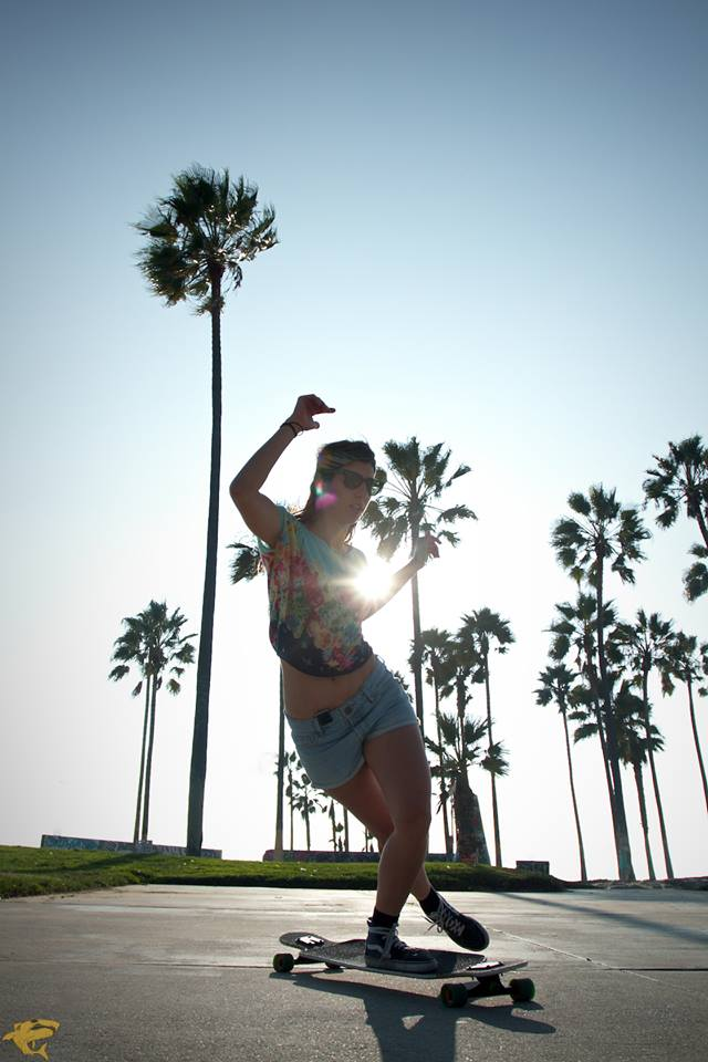 Valeria Kechichian, Arian Chamasmany, longboard girls crew, longboard, girl, cool, rad, venice beach, california, palm trees, sun, cool