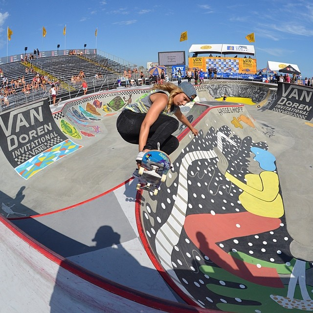 van doren invitational, bowl, skateboarding, rad, longboard girls crew, skate, vans us open, alana smith