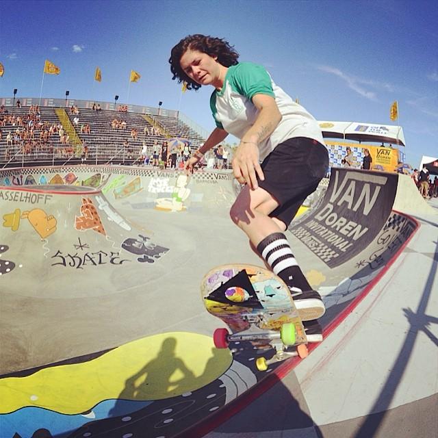 van doren invitational, bowl, skateboarding, rad, longboard girls crew, skate, vans us open, vanessa Torres