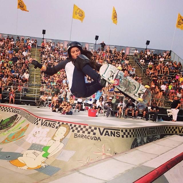van doren invitational, bowl, skateboarding, rad, longboard girls crew, skate, vans us open, Nicole Hause