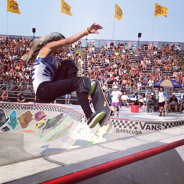 van doren invitational, bowl, skateboarding, rad, longboard girls crew, skate, vans us open, Lizzie Armanto