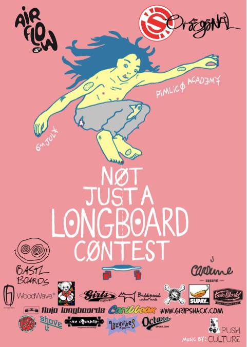 Not Just a Longboard Contest