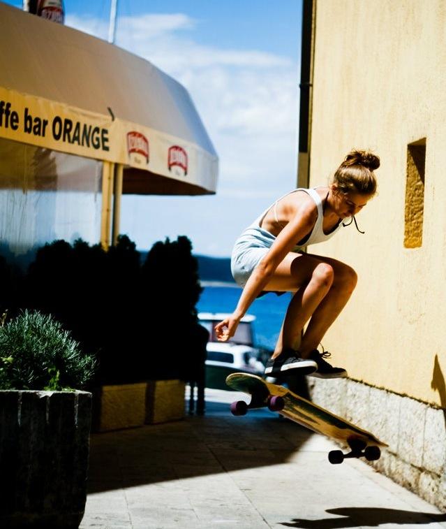 Kristína Grežďová, slovakia, longboard girls crew, longboard, girl, cool, skate, summer