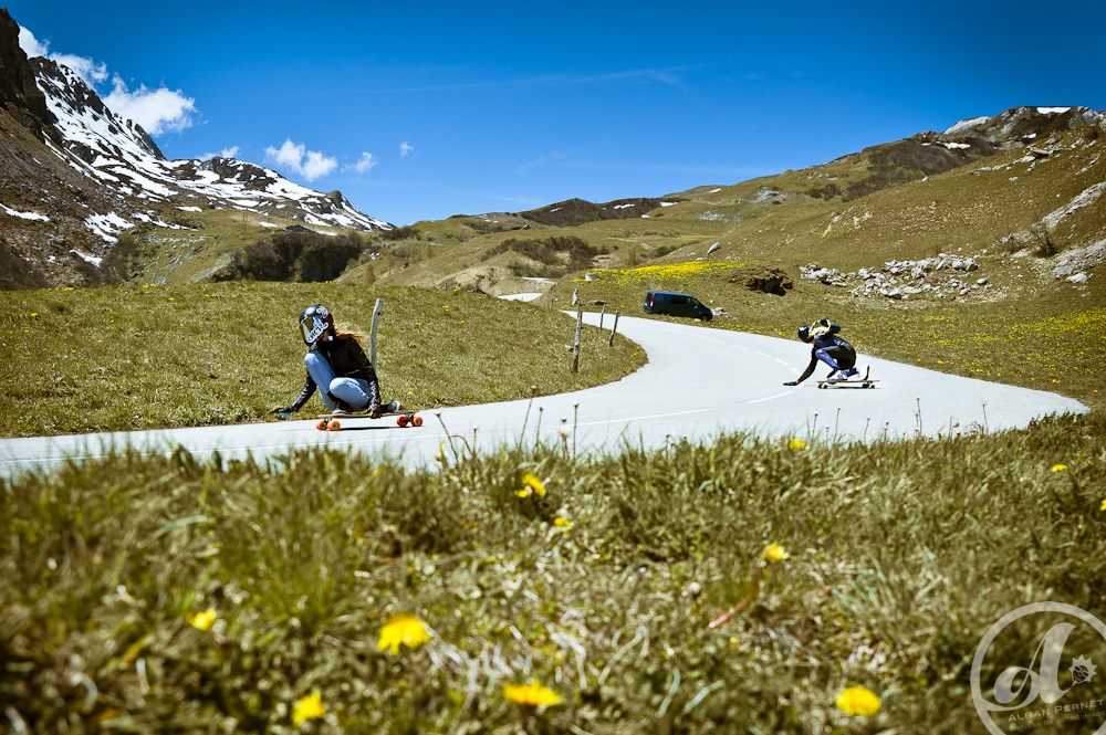 france, longboard girls crew, downhill, mountains, skate, longboard, lgc france, lgc, cool, rad