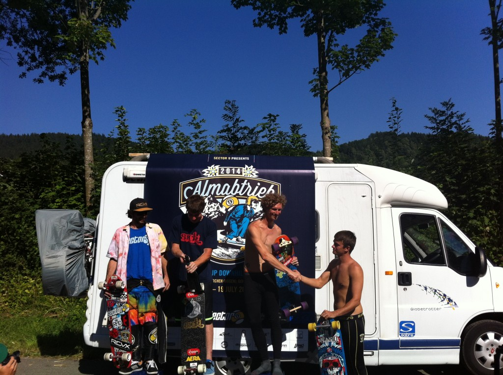 Almabtrieb 2014 Open Podium