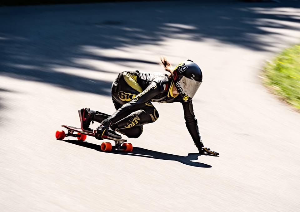 Spoky Woky, longboard girls crew, longboard, girl, downhill, almabtrieb, idf, race, badass