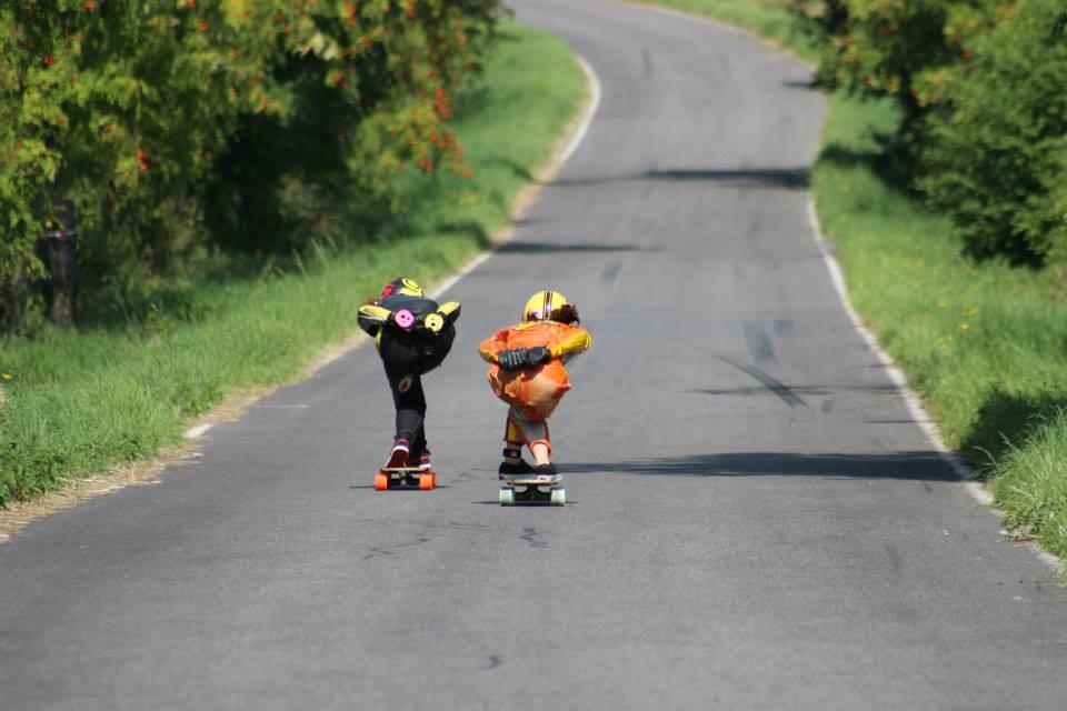 miller division, longboard girls crew, longboard, girl, downhill, kozakov, idf, race, badass, Czech republic