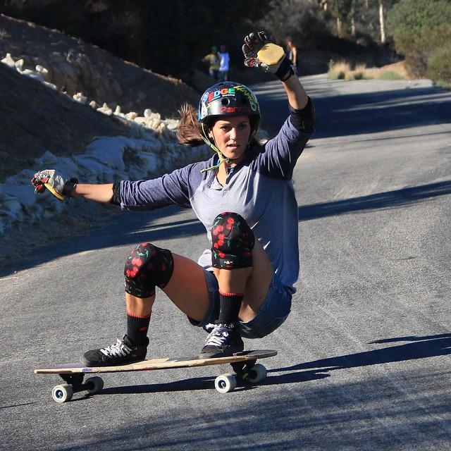 amanda panda, longboard girls crew, longboard, girl, rad, slide, california