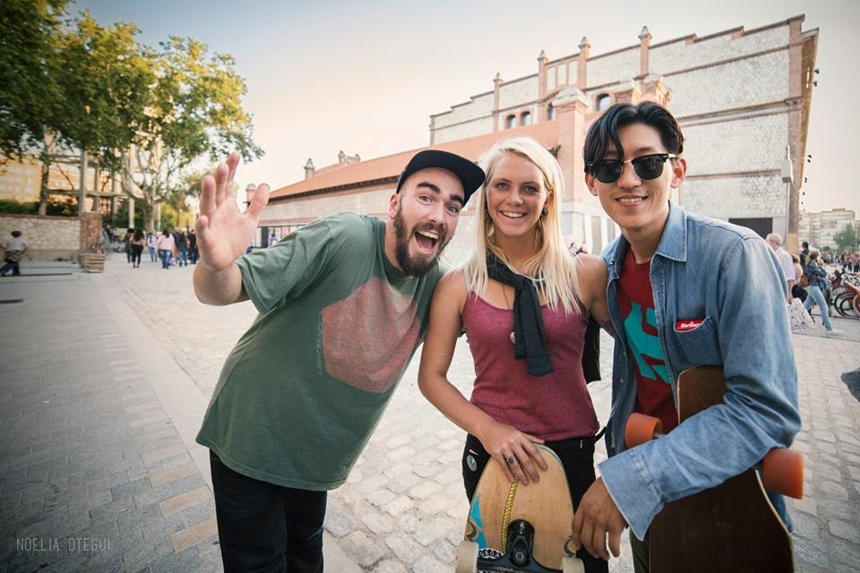 longboard girls crew, longboarding, girls, friendship, open, lgc open, lgs skates Israel, Israel, movie, premiere, madrid, madrid skate film festival, love, amanda powell, daniel sam, Jongbin Jo