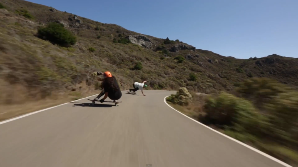 carmen shafer, alicia fillback, longboarding, skate, longboard girls crew, downhill, freeride, fast, rad, friends, runs, caliber trucks