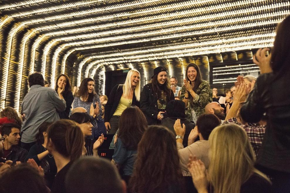 longboard girls crew, longboarding, girls, friendship, open, lgc open, lgs skates Israel, Israel, movie, premiere, madrid, madrid skate film festival, love, valeria kechichian, amanda powell, katie nelson