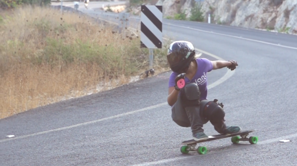 longboard girls crew, ishtar backlund, israel, open, dancing, cool, rad, fast, girl, blonde, skate, tel aviv