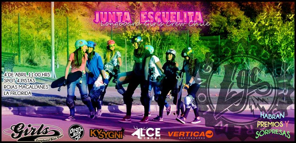 longboard girls crew, chile, skate