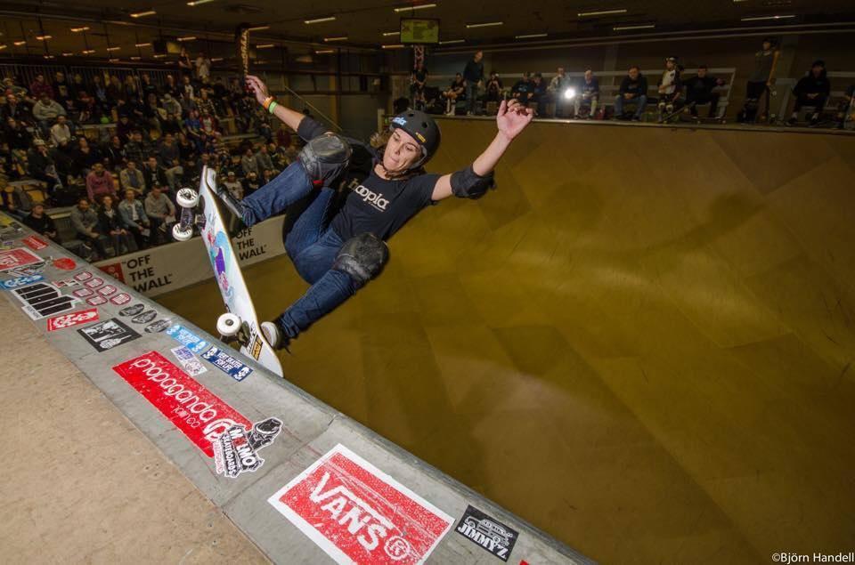 mimi knoop, vert attack, malmo, sweden, skateboarding, longboard girls crew