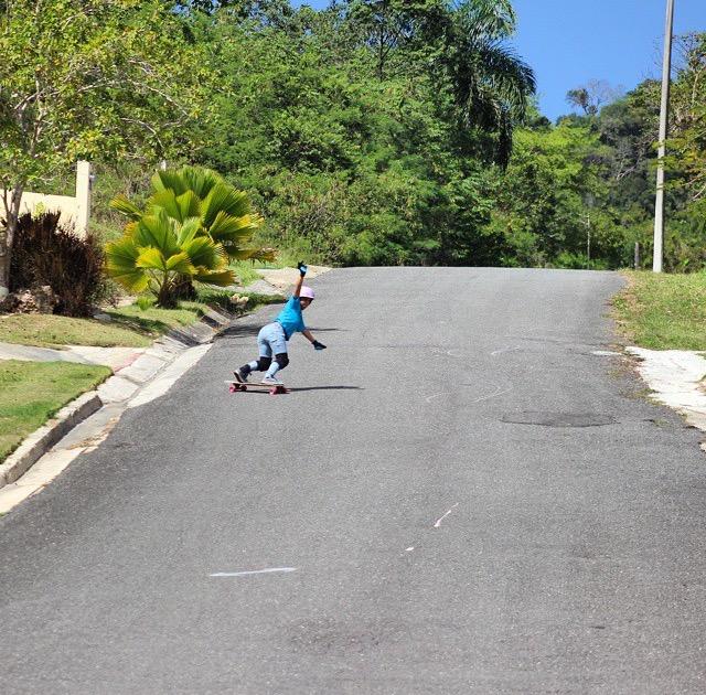 keyla dennise, puerto rico, longboard girls crew, slide, rad, cool, island, rad women, women power, skate, longboarding