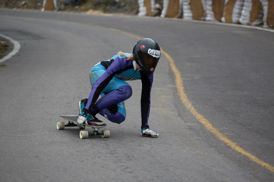 choro longboarding, palaxa golden, longboard girls crew, skate, fast, downhill, riviera,