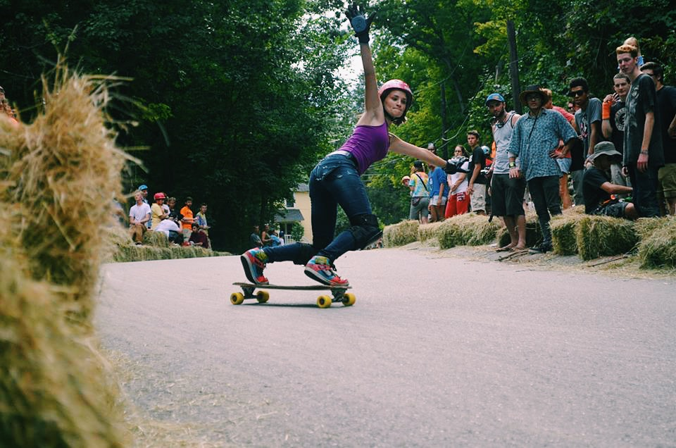 micaela wilson, longboard girls crew, strong women, women supporting women, freeride, rad, cool, fast, slide, girl, skate, longboarding, summer