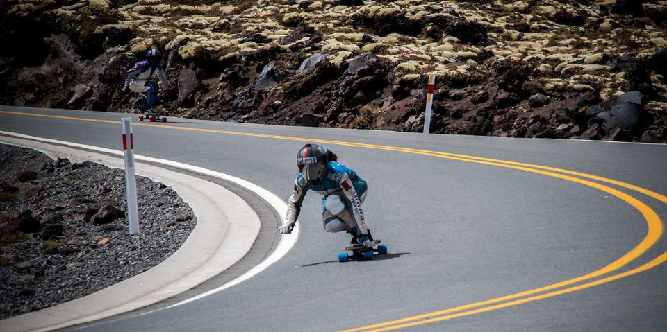 Maga mcwhinnie, longboard girls crew, longboarding, downhill, fast, rad, strong women, skate, new zealand, women power, girl power, skate like a girl